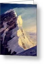Everest-southeast Ridge Greeting Card