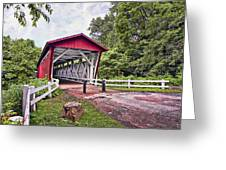 Everett  Bridge Greeting Card