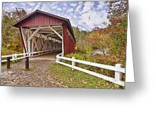 Everett Covered Bridge Greeting Card
