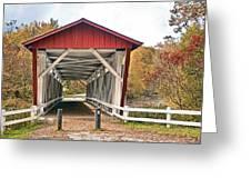 Everett Road Bridge Greeting Card