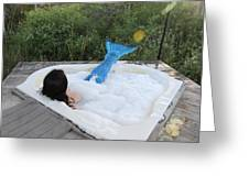 Everglades City Florida Mermaid 017 Greeting Card