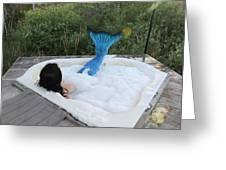 Everglades City Florida Mermaid 018 Greeting Card