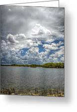 Everglades Lake 6919 Greeting Card by Rudy Umans