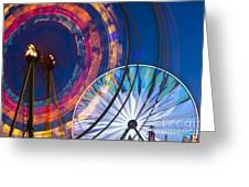 Evergreen State Fair Ferris Wheel Greeting Card