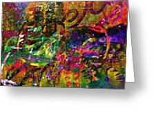 Evermore Graffiti Greeting Card