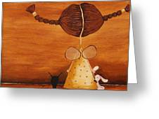 Every Angel Needs A Bunny Greeting Card