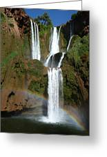 Every Teardrop Is A Waterfall  Greeting Card