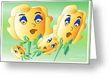 Everyone Loves Roses 2 Greeting Card