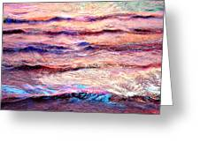 Everything Is Motion - Abstract Art Greeting Card by Jaison Cianelli