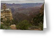 Evolution Of Nature At The Grand Canyon Greeting Card