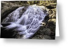Evolution Waterfall Greeting Card