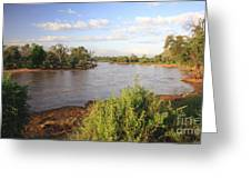 Ewaso Nyiro River Greeting Card
