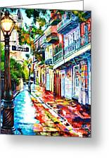 Exchange Alley Greeting Card