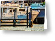 Excursion Boat Greeting Card