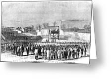 Execution Of Henry Wirzhenry Wirz Greeting Card