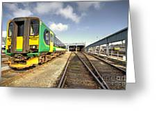 Exeter Tmd Greeting Card
