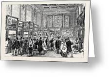 Exhibition Of The City Of London Society Of Artists Greeting Card