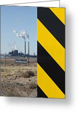 Exit 280 Cholla Power Plant Greeting Card