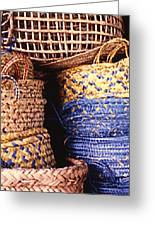 Exotic Baskets Greeting Card