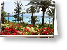 Exotic Beach Greeting Card