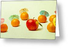 Exotic Fruit Greeting Card
