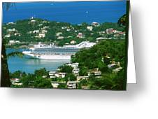 Exotic Port Greeting Card