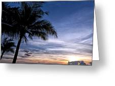 Exotic Sunrise 02 Greeting Card
