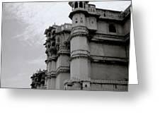 Exotic Udaipur Greeting Card