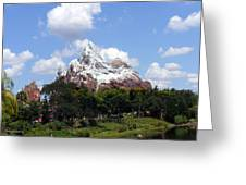 Expedition Everest Greeting Card