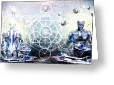 Experience So Lucid Discovery So Clear Greeting Card