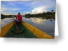 Exploring Amazonia Greeting Card