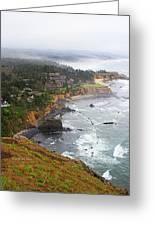 Exploring The Oregon Coast Greeting Card