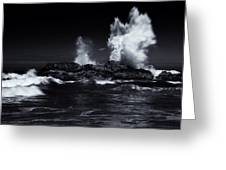 Explosion Greeting Card by Mike  Dawson