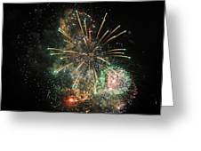 Explosion Of Color On Canada Day Greeting Card
