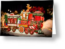 Express Train Greeting Card