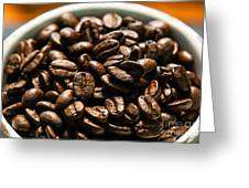 Expresso Beans Greeting Card
