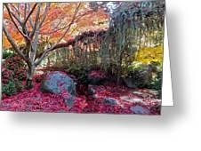 Exquisite Autumn Greeting Card
