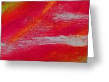 Exuberant Orange Greeting Card