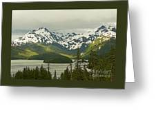 Eyak Lake Landscape Greeting Card