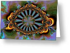 Eye Of Centauris Greeting Card by Claude McCoy