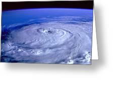Eye Of The Hurricane Greeting Card