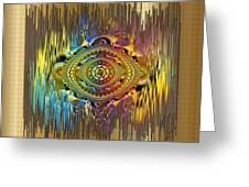 Eye Of The Rainbow Greeting Card