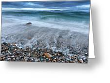 Eye Of The Storm Square Greeting Card