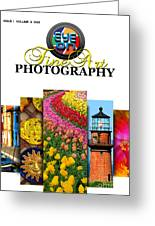 Eye On Fine Art Photography March Cover Greeting Card