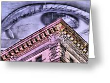 Eye On The City Greeting Card