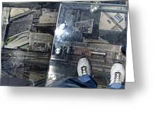 Eyes Down From The 103rd Floor One Big Step Greeting Card