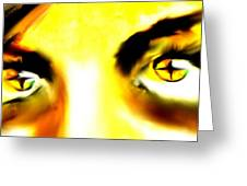Eyes From The Inside 2 Greeting Card