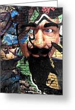 Eyes In Disguise  Greeting Card