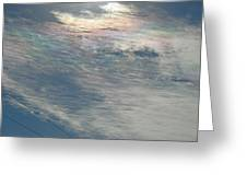 Eyes Of Clouds Greeting Card