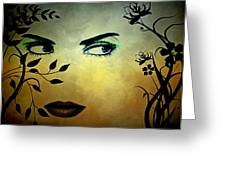 Eyes Of Mother Nature Greeting Card